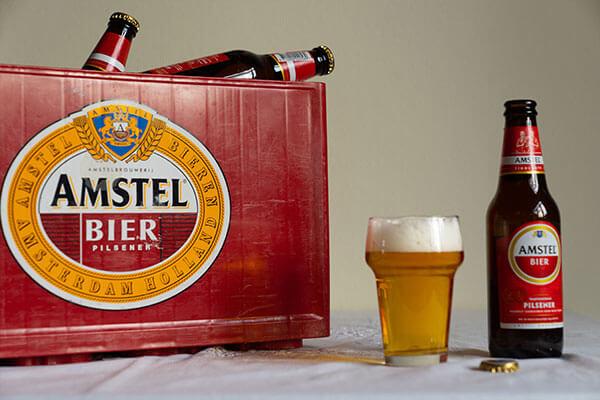 Krat Amstel Bier