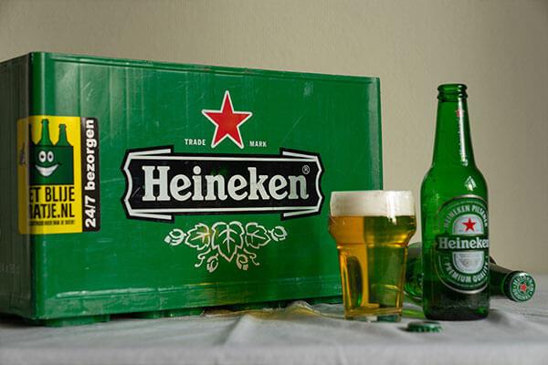 Krat Heineken Bier